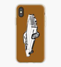 1975 Cadillac Eldorado Convertible Illustration iPhone Case