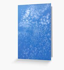 Happy, Happy Confetti Clouds Greeting Card