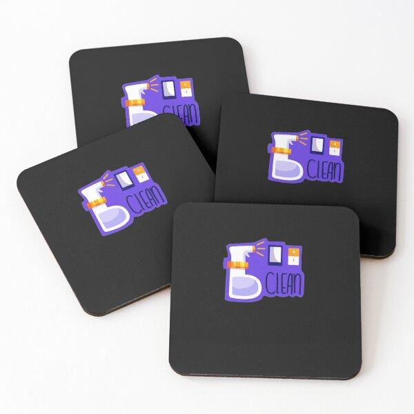 Clean Coasters (Set of 4)