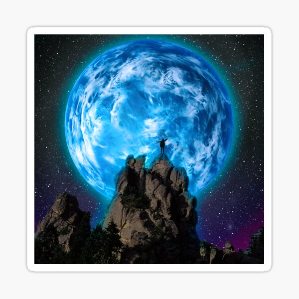 The Blue Planet Sticker