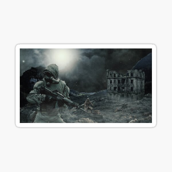 Apocalyptic Search Sticker