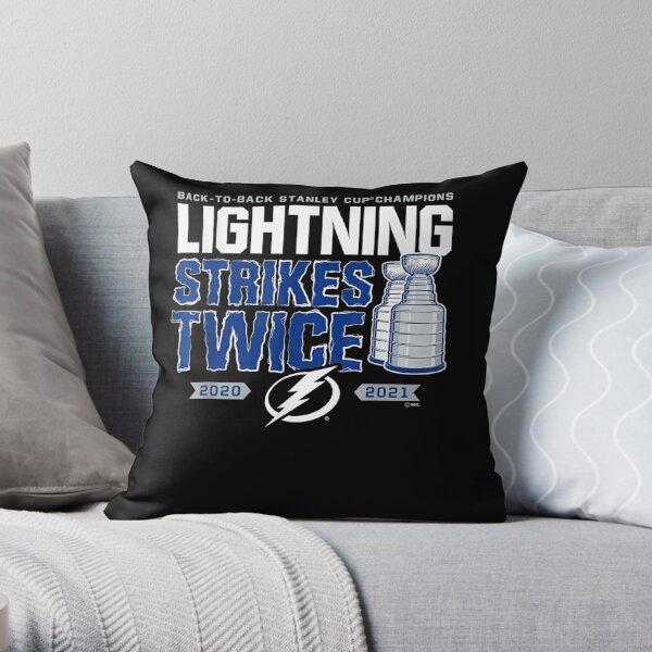Lightning-strikes-twice Throw Pillow
