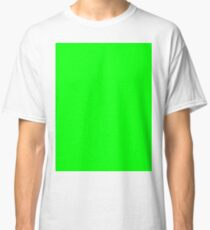 Green Screen Chroma Background For Streaming & Videos Classic T-Shirt