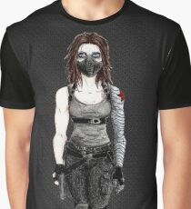 Female Winter Soldier Graphic T-Shirt