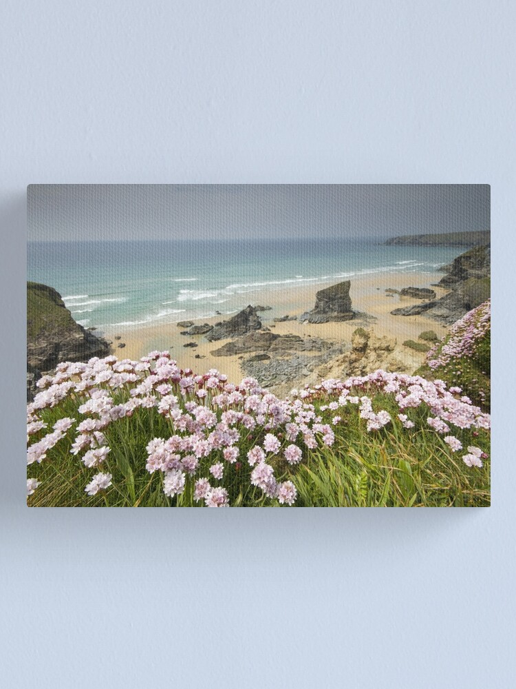 Alternate view of Cornwall - Bedruthan Steps Canvas Print
