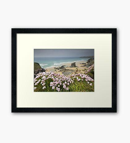 Cornwall - Bedruthan Steps Framed Print