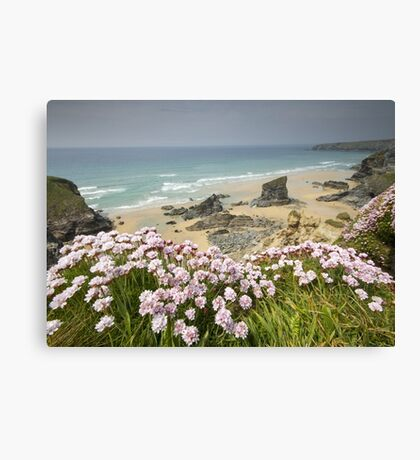 Cornwall - Bedruthan Steps Canvas Print