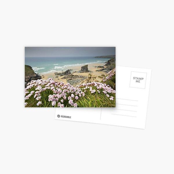 Cornwall - Bedruthan Steps Postcard