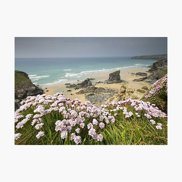 Cornwall - Bedruthan Steps Photographic Print