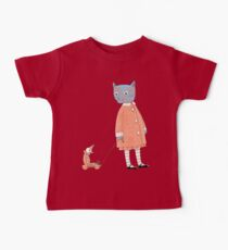 Cat Child Takes a Walk Baby Tee