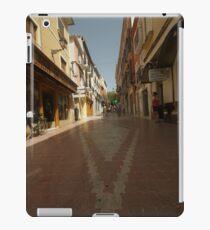 Denia, Spain Streetscape iPad Case/Skin
