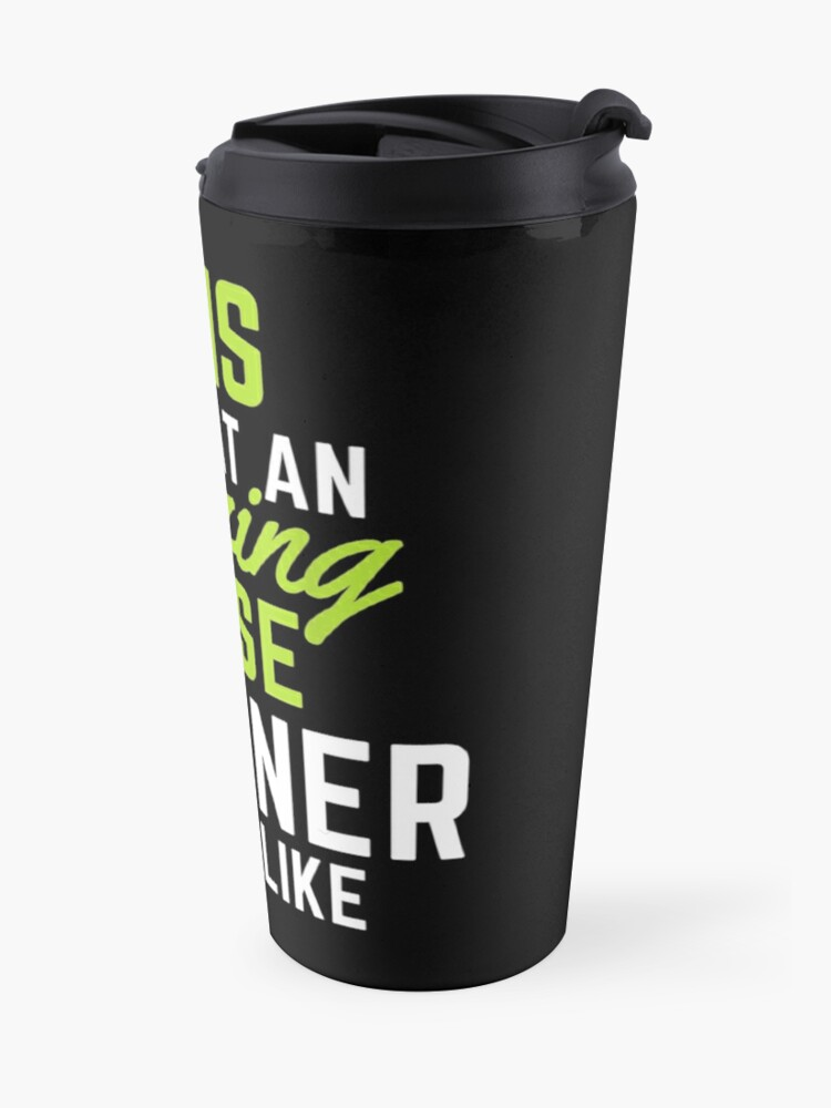 Alternate view of This Is What An Amazing House Cleaner Looks Like Travel Mug