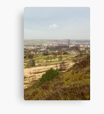 looking over sowerby bridge Canvas Print