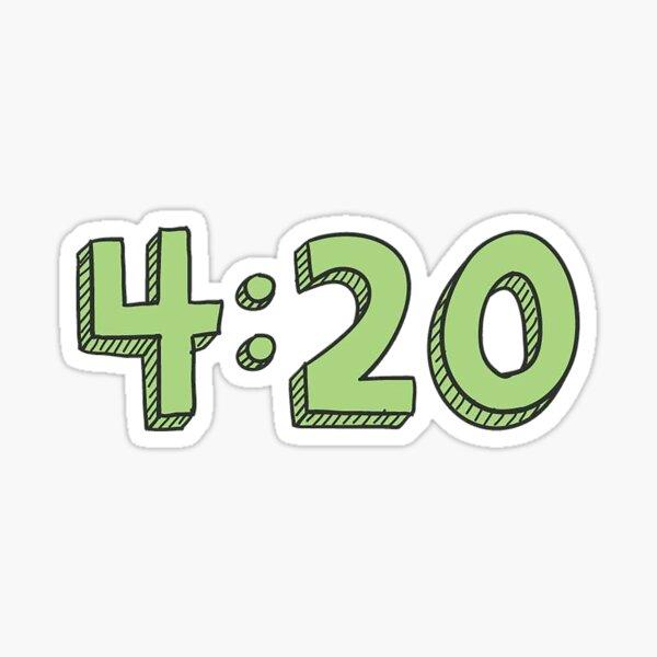 4:20 Sticker