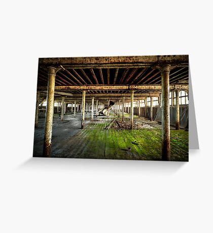 Factory Room Greeting Card