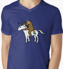 Slothicorn Riding Unicorn T-Shirt