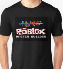 Roblox Master Builder Design Unisex T-Shirt
