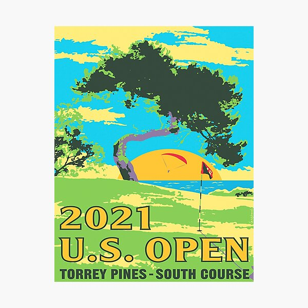 US Open - Torrey Pines  2021 Photographic Print