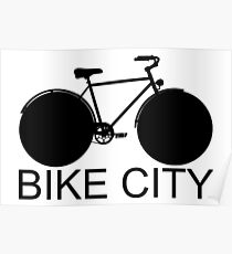Bike City - Concept Icon Poster