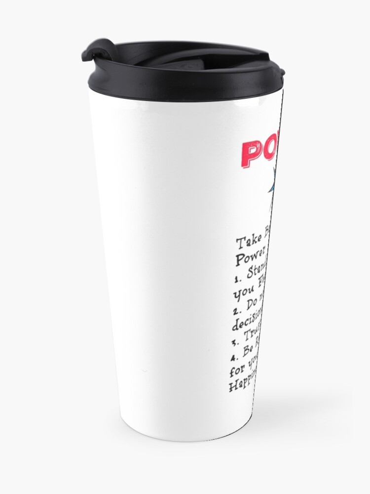 Alternate view of TAKE BACK YOUR PERSONAL POWER Travel Mug