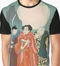 3 Kabuki Actors. Graphic T-Shirt