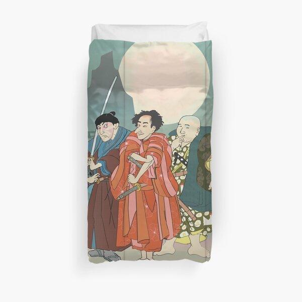 3 Kabuki Actors. Duvet Cover