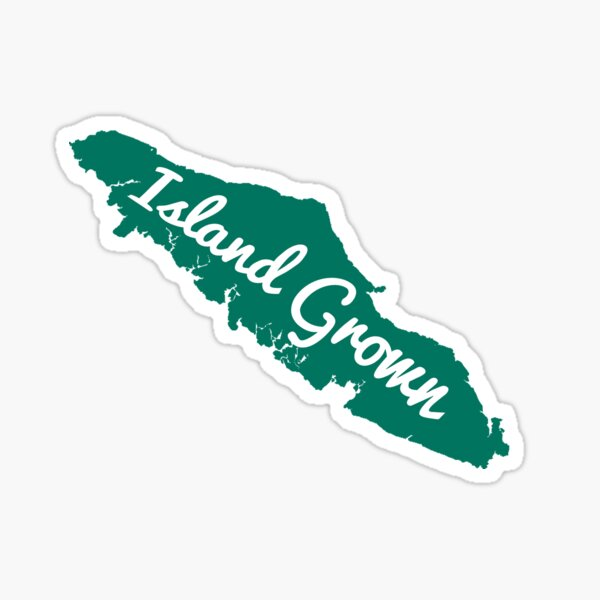 Vancouver Island Grown Sticker
