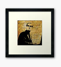 Everybody Digs Bill Evans Framed Print