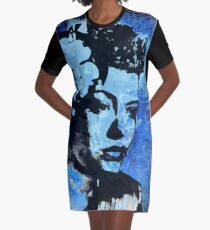 Billie Holiday - Lady Day Graphic T-Shirt Dress
