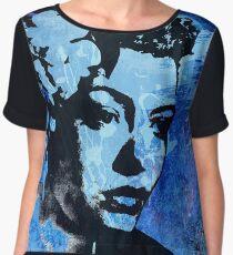 Billie Holiday - Lady Day Chiffon Top
