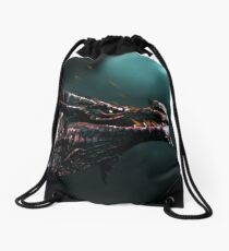 Dragon Embers Drawstring Bag