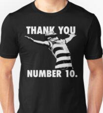 NUMBER 10 FOREVER Unisex T-Shirt