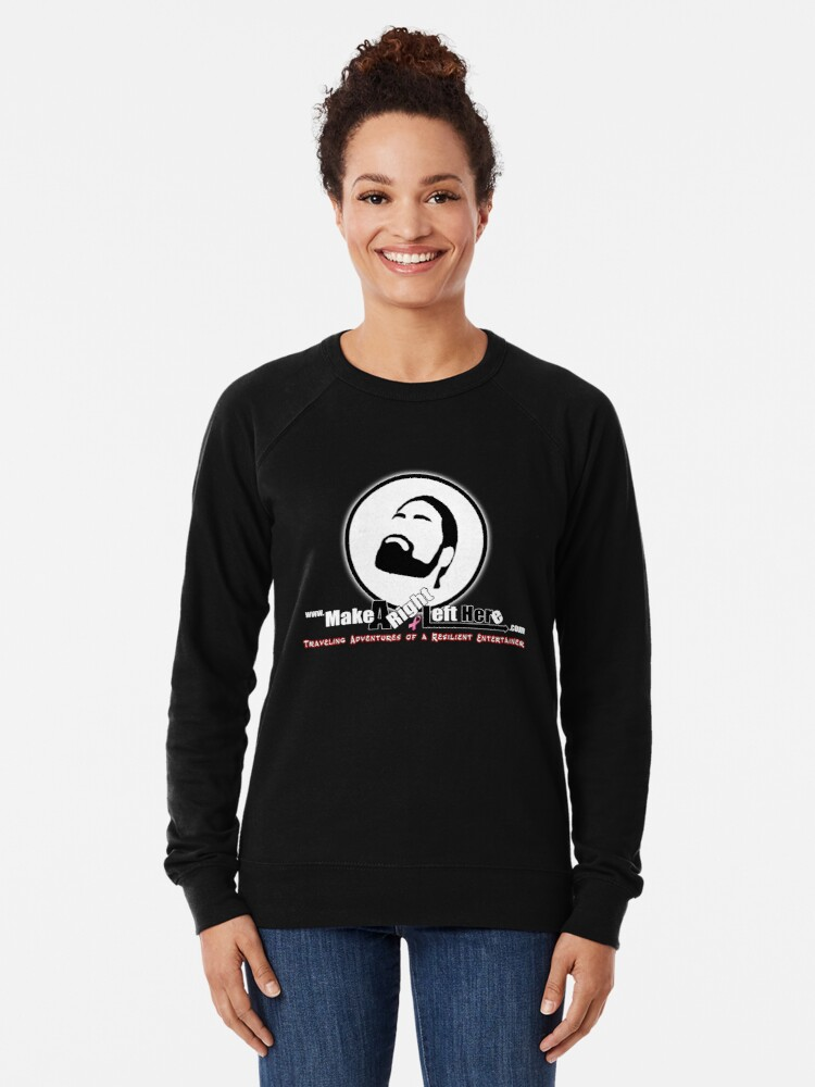 Alternate view of Thomas J Bellezza Make A Right Left Here Lightweight Sweatshirt