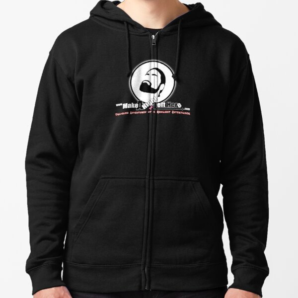 Thomas J Bellezza Make A Right Left Here Zipped Hoodie