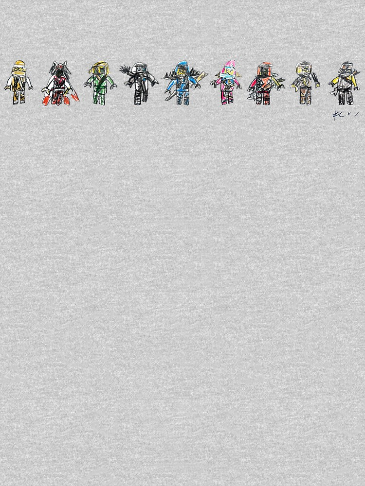 The 9 Ninja's by gosugimoto