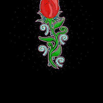 Mystic Rose by LeahMcNeir