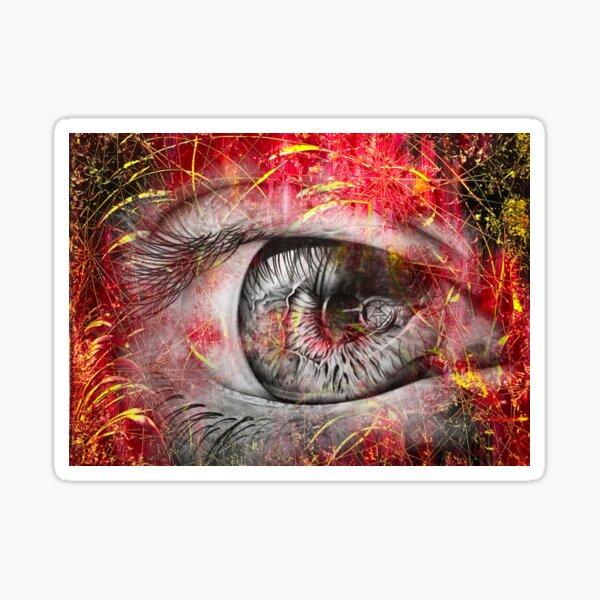 Auge abstrakt Sticker
