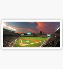 Wrigley Field at Night Sticker