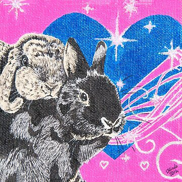 Bunny Anytime Valentines - Design Thirteen by ArtbyMinda