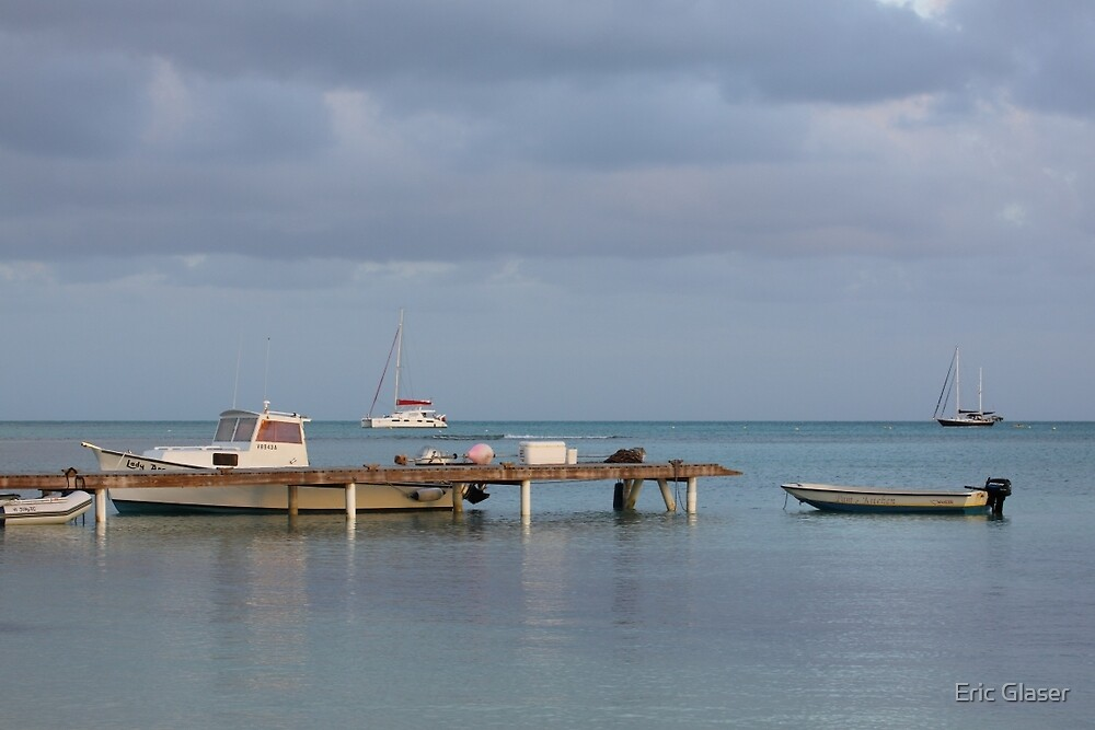 Boats at Rest by Eric Glaser