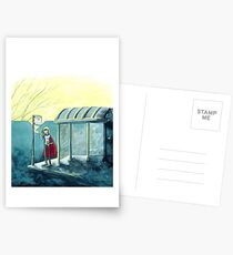Average Heroes: The Bus Stop Waiter Postcards