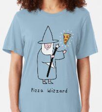 Pizza Wizzard Slim Fit T-Shirt