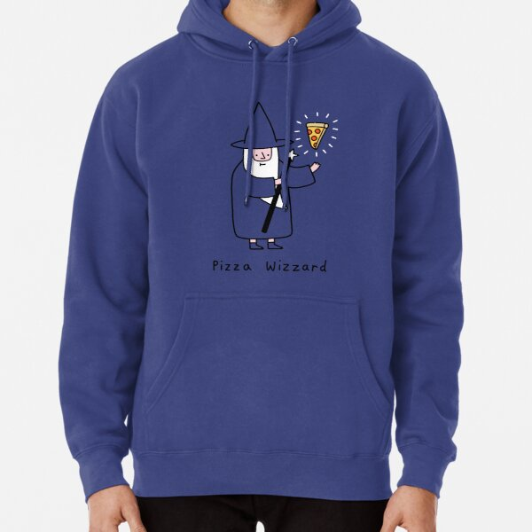 Pizza Wizzard Pullover Hoodie