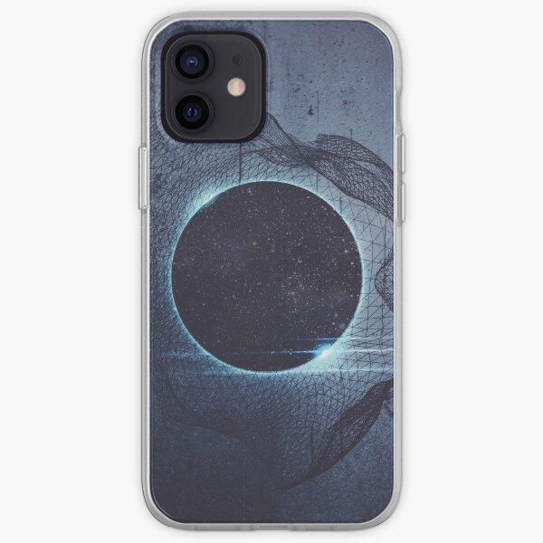 Eclipse sticker Funda blanda para iPhone