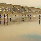 Sunday at the Beach by Buckwhite