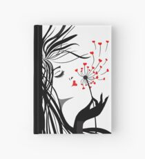 Blowing Kisses Hardcover Journal