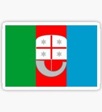 Liguria Flag Sticker