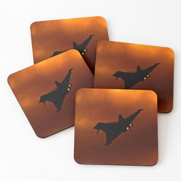 Typhoon Igniting The Sky Coasters (Set of 4)