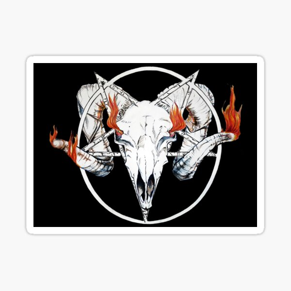 The Satanic Narratives Sticker