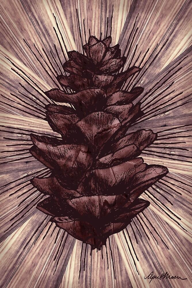Spruce I by April  Moen